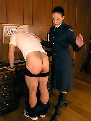 Male was punished by the cane further the paddle