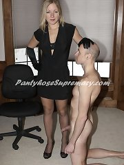 Mistress humiliated and fucked slaveboy