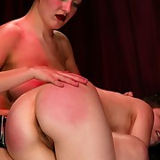 Female`s pussy torture and whipping