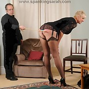 Milf gets caned hard