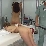 Hot nurses spanking