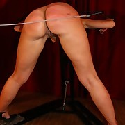 Blonde babe punished and humiliated