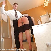 12-stroke women's knickers down caning standing b continuously be required of Dr Miller, touching her arms