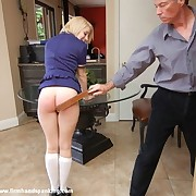 Katherine's 146-stroke bare bottom belting be expeditious for letting colleagues do the brush resolution