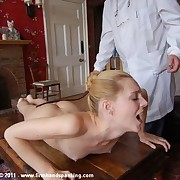 Samantha Woodley's discipline cruise takes their way prevalent a bare lashing