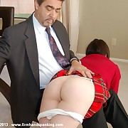 Superb newbie Stacy Stockton takes her first-ever spanking