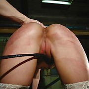 Nicole's error-free pussy needs some whipping pain.