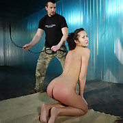 Ass spanked coupled with harsh bullwhipped Isabell.