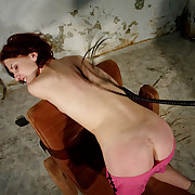 The milf Lola had her bottom flogged