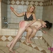 Lovely chiq gets her bottom flogged