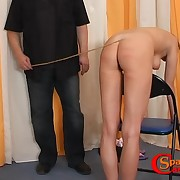 Hot ass caning