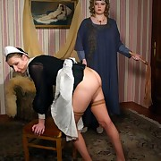 Two babes punished