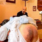 Maid was paddled by her old master