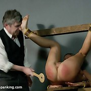 3 defiant girls bound, humiliated and brutally spanked!