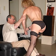 Become man gets spanked otk