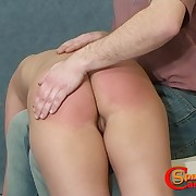 Anita has the brush bootie in flames coupled with suffers from pain