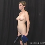 Raunchy quean has grim whips on her butt