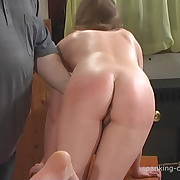Prurient quean has savage whips on her booty