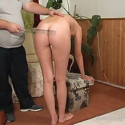 Slut was spanked by a tiara