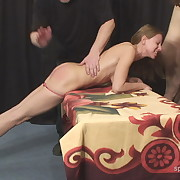 Jamie fille gets her tail spanked