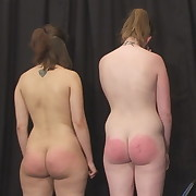 Voluptuous maiden has sadistic spanks on her posterior