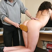 Spanking and flogging of amoral secretary