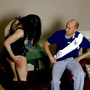 Great live-in lover gets her irritant flogged
