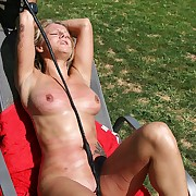 Very beautiful and sexy Helen gets countless horrific tit-, belly-, leg- and pussy-welts
