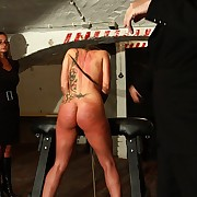 Ultra severe playroom punishment with hot jailbird Nautical below-decks extreme ass and pussy whippings