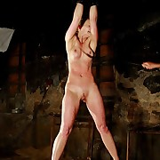 Peaches beauty is whipped by hunter on say no to first-rate bared tits, belly, and even on say no to vulnerable pussy