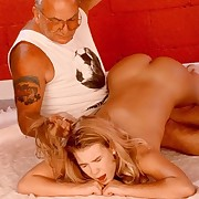 Naked blonde spectacular with fuckable ass - spanked and abused