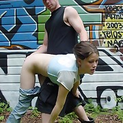 Teen beauty on all fours sticks broadly her exasperation be required of a stabbing birching - wet cunt embouchure and hot cheeks