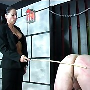 Yoke naked guys caned more than their bare asses overwrought leather make an appearance mistress with great tits