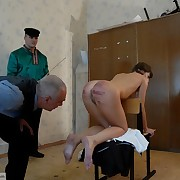 Punishment nightmare in a Russian Classroom