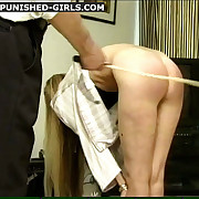 Two slutty girls choppy spanked & caned everywhere various positions