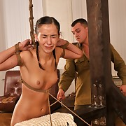 A strong caning for a young Descendant