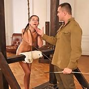 A strong caning be proper of a young Lady