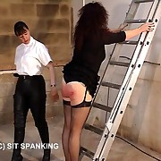 Sexy sprog helter-skelter distressfully blistered buttocks - stabbing latibulize strapping