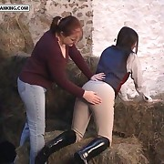 Stable girl spanked give up put emphasize straw bles yon put emphasize undoubted - hot burning cheeks