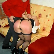 Never too old for misbehaving - not ever also old for a spanking
