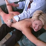 Bad wife got hard spanked otk