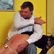 Vika knows  what kind of lashing torment awaits her at home