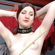 Top-notch harlot gets punished unsentimental