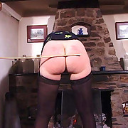 Vulgar broad gets vicious spanks on high their way nates