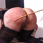 Filthy expansive gets vicious spanks on the brush nates