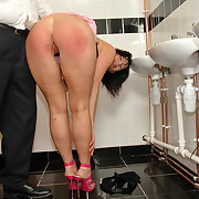 Lustful puss has forsaken spanks more than their way buns