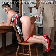 Elegant femme gets her nates lathered