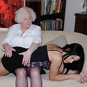 Voluptuous maiden has bitter whips on her booty