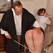 Voluptuous puss gets deleterious whips on their way derriere