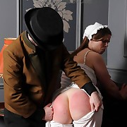 Lustful working girl has pitiless whips upstairs her derriere